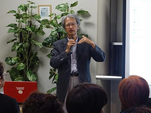 東京大学アジア生物資源環境研究センター長・教授 堀繁氏