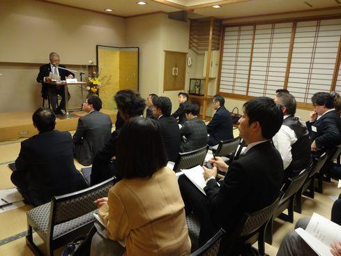 黒須隆一氏講演会を開催