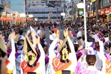 9月5日16:30~20:30まで『阿波踊り』2