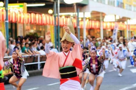 9月5日16:30~20:30まで『阿波踊り』