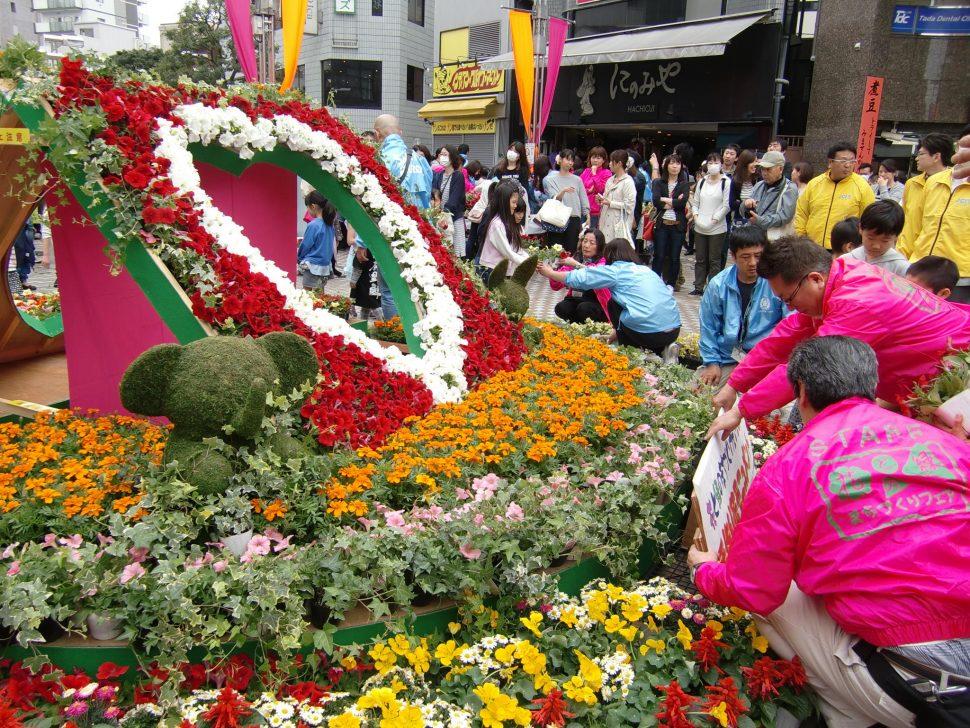 花と緑のまちづくりフェア2016開催報告