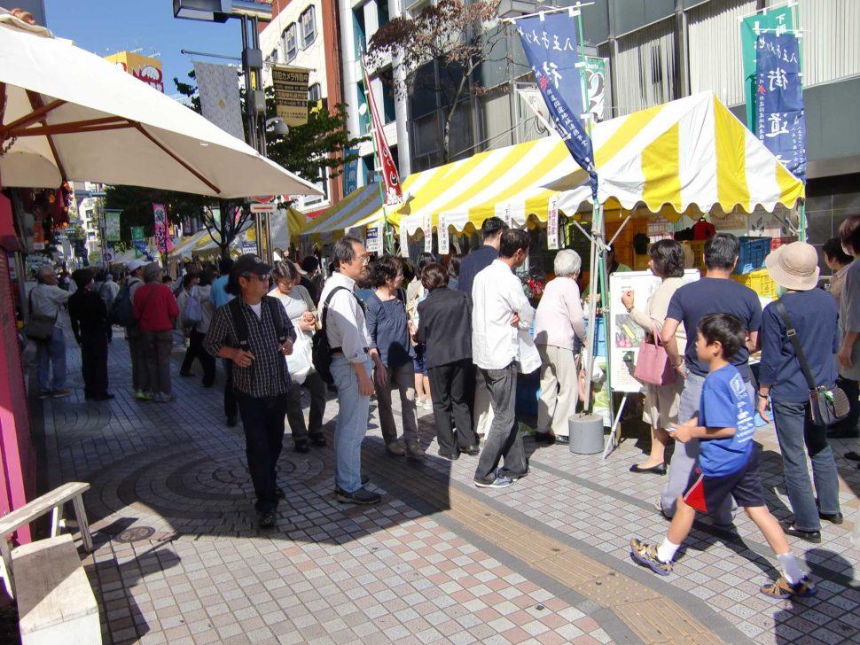 八王子メッセ『街道市』がユーロードで開催されました
