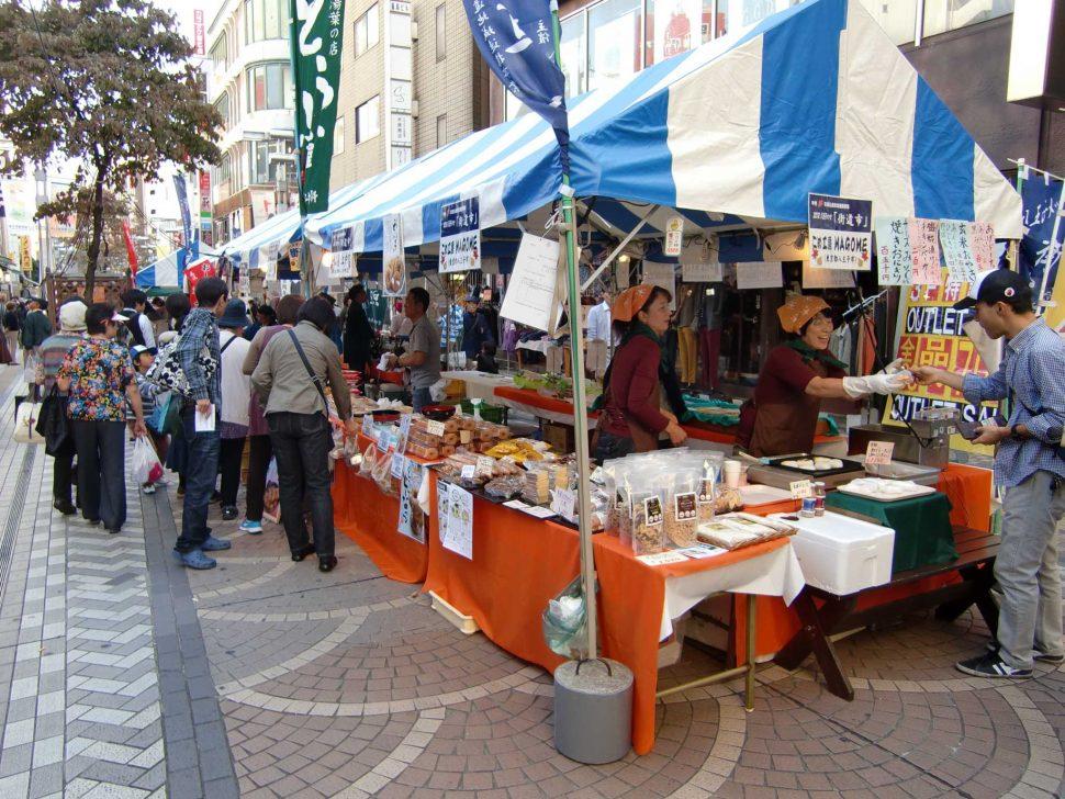 八王子メッセ『街道市』がユーロードで開催されました2
