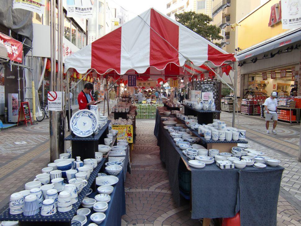 第14回全国大陶器市~八王子値切り市~が今年もユーロードで開催3