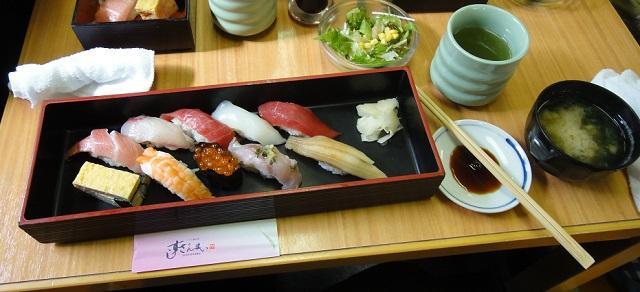 「すしざんまい」で本マグロの寿司ランチ